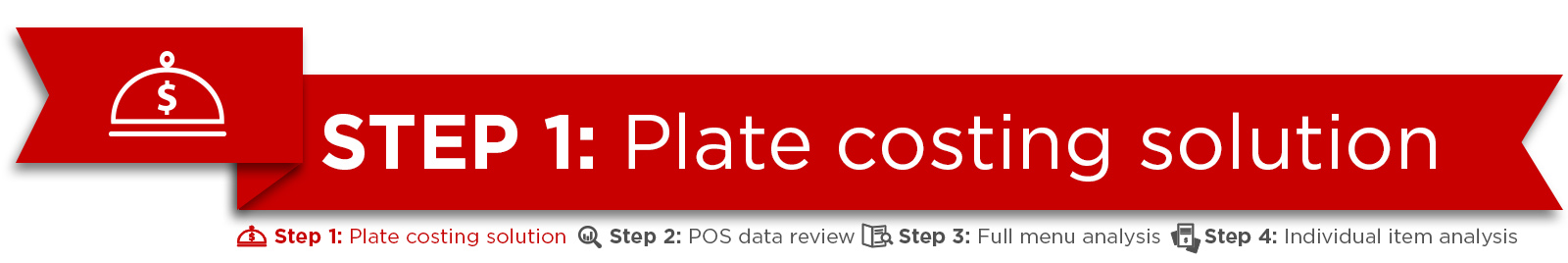 Step 1: Plate costing solution