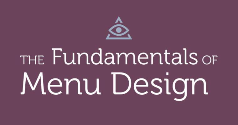 Fundamental of Menu Design