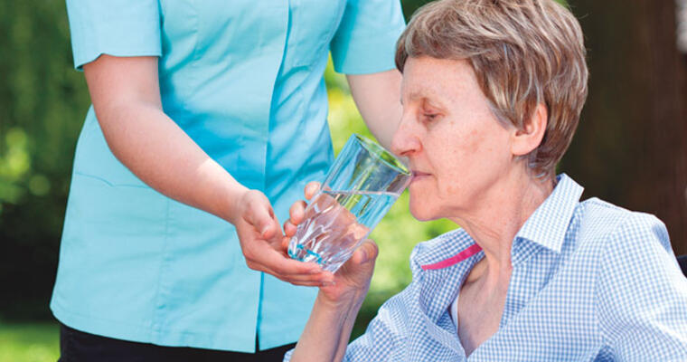 Hydration for Memory Care Residents
