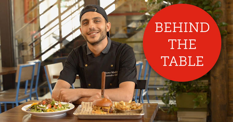 Behind the Table: Chef Zane Makky