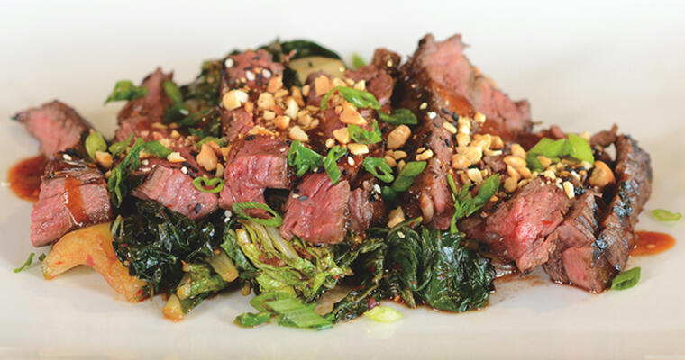 Halperns' Korean BBQ Skirt Steak recipe