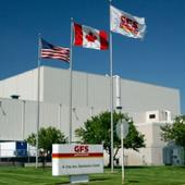 US and Canadian flags near GFS headquarters