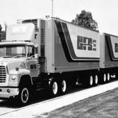 GFS truck with two trailers