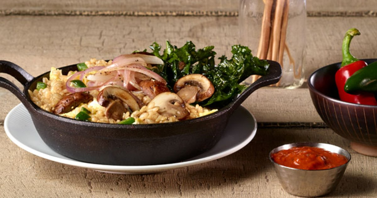 Spicy Barley And Brown Fried Rice Gordon Food Service