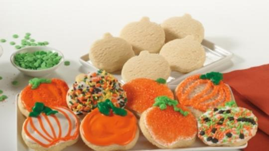 Fall Sugar Cookie Dough