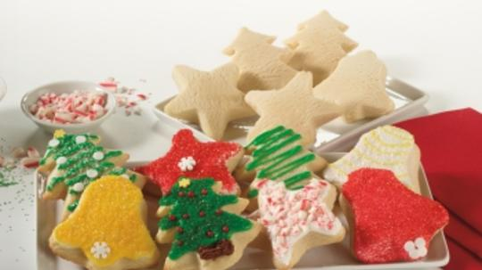 Holiday Sugar Cookies Dough