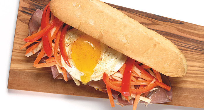 Yorkshire Beef Sandwich recipe for restaurants and foodservice