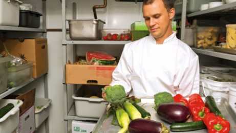 Managing healthcare food service inventory