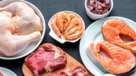 Safe handling and temperatures for TCS meats, poultry and fish.