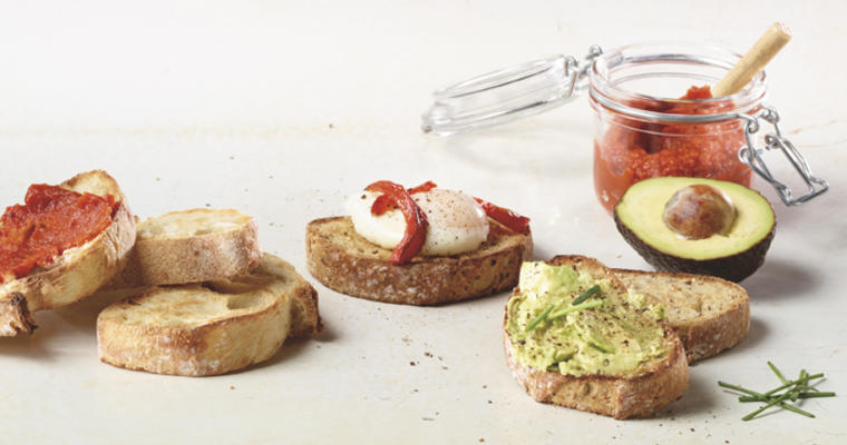 tips to reinvent toast and grilled bread