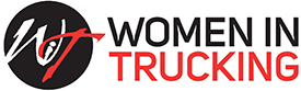 Image Logo of Women in Trucking, a partner in Gordon Food Service Transportation Employees